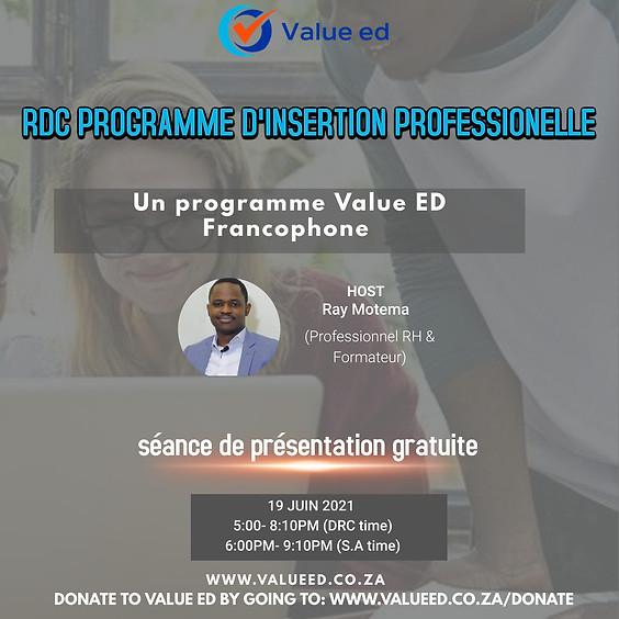 DRC Program Overview