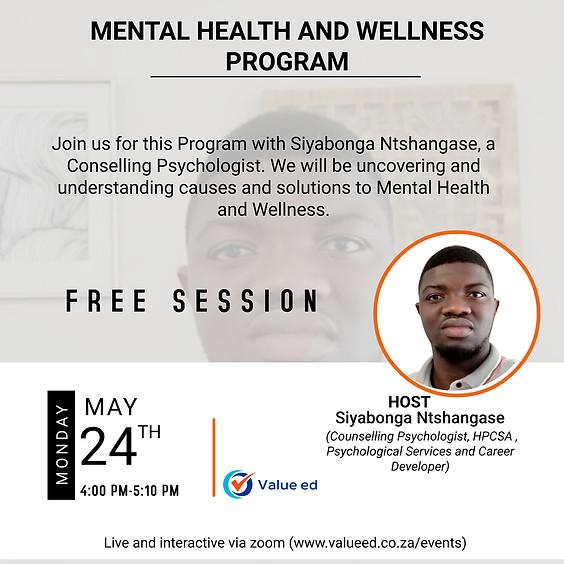 Mental Health & Wellness Overview