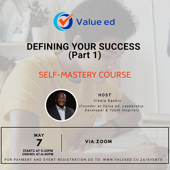 Self-Mastery Defining Your Success