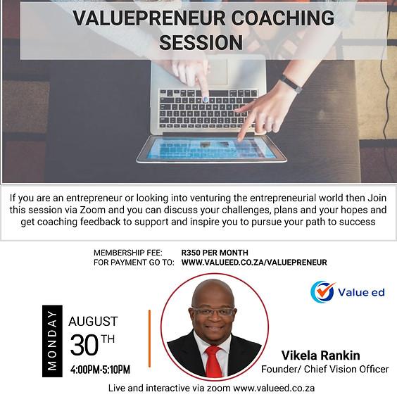 Valuepreneur Program