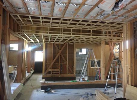 居酒屋「奧洲」改修工事が始まりました