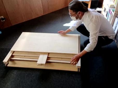 組み立てテーブル