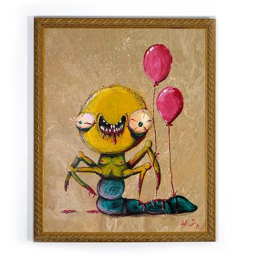 Happy Boi - PAINTING- Original Art
