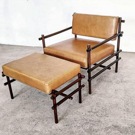 Estúdio Tiago Curioni - Poltrona e Cadeira Pipa