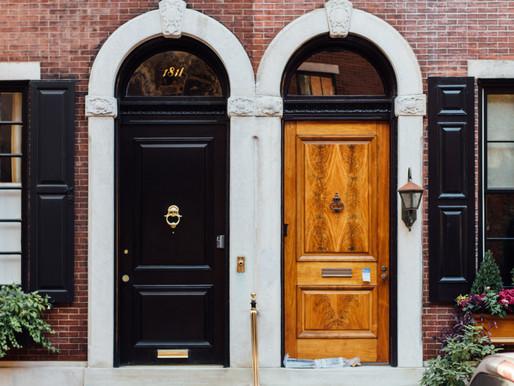 Leaving Jesus At The Doorstep