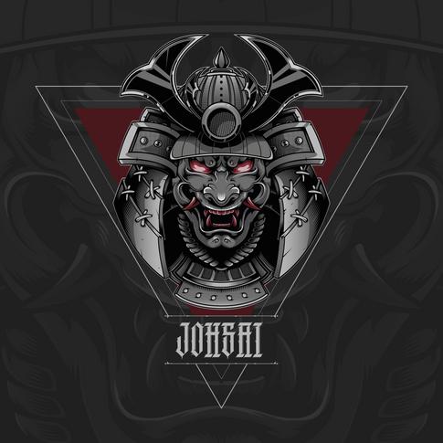 Demon Samurai T-Shirt Concept