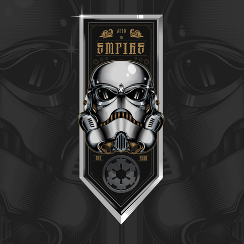 Join the empire Illustration