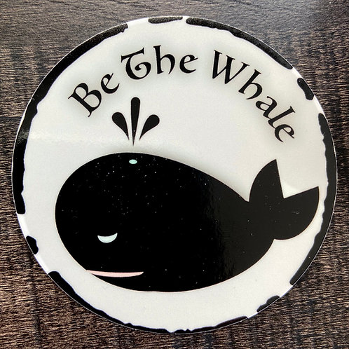 Be the Whale Sticker