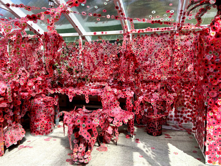 Obliterated by Flowers: A Pictoral Visit to Kusama's NY Botanical Garden Art Show