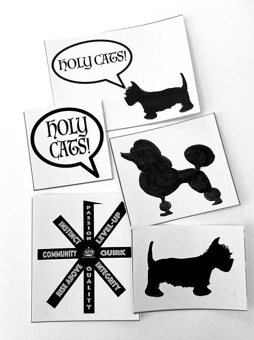 Loud Coffee Press DIY Sticker Pack