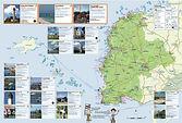 Carte des activités en Pays d'Iroise