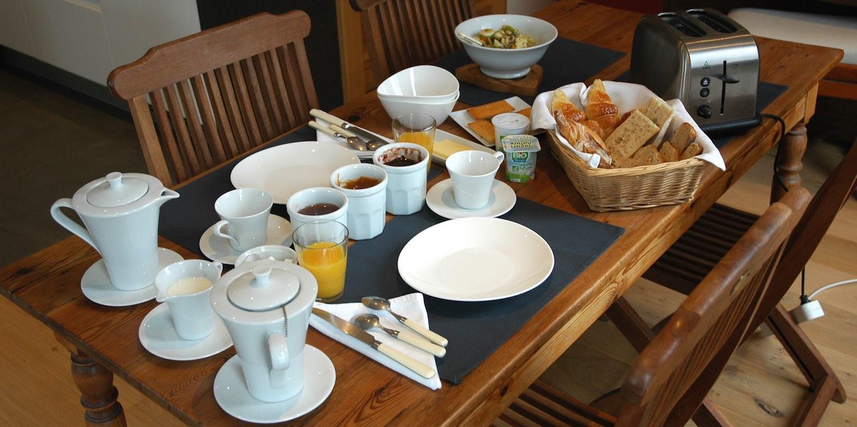 Un petit déjeuner copieux