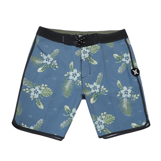 Hurley Phantom - FLOWERS blue