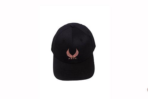 METAL BUCKLE ROSE GOLD CAP