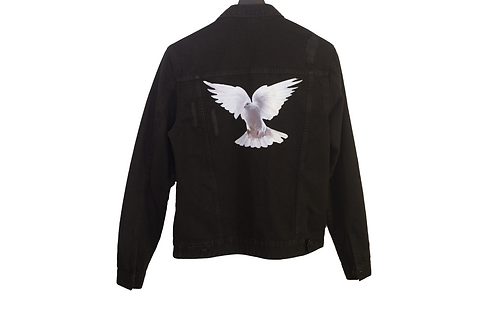 BIRDS DENIM JACKET