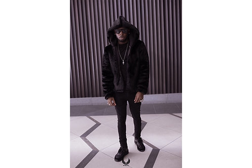 MADE HOODED FUR JACKET