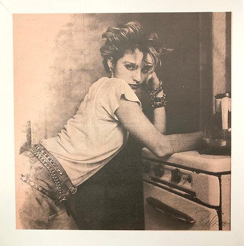 Madonna, NYC, 1983 (Kitchen Stove)