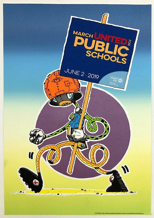 Eric Orr, March United Public Schools Poster