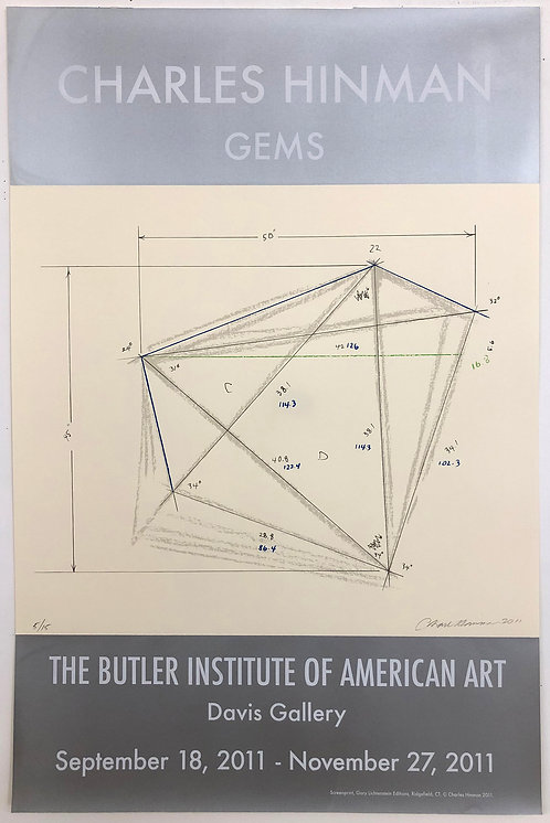 Charles Hinman, Gems, The Butler Institute of American Art Poster