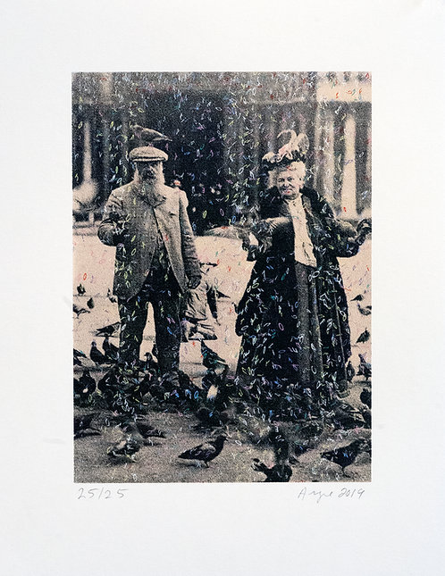 Monsieur et Madame Monet (sepia)