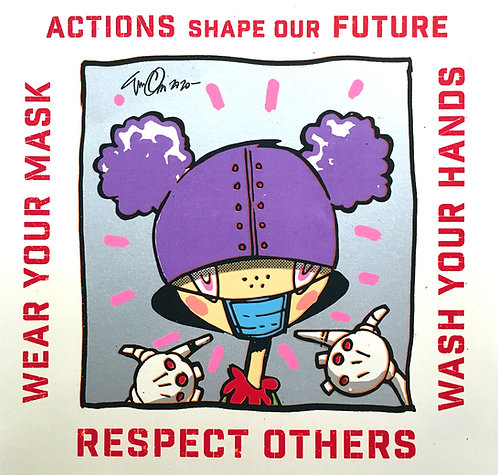 Eric Orr, Respect Others (Maxine Robot) Poster