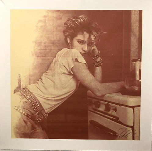 Madonna, NYC, 1983 (Kitchen Stove)