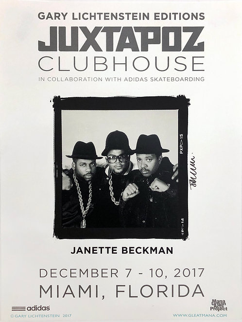 Juxtapoz Clubhouse (Janette Beckman) Poster