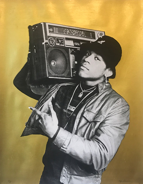 LL COOL J (Gold Background)