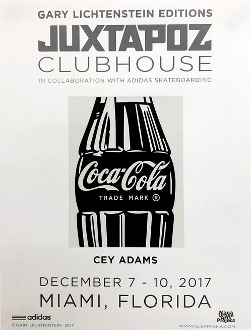 Juxtapoz Clubhouse (Cey Adams) Poster