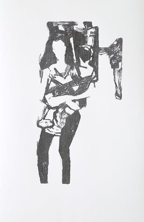 Madre Ojinaga-Black & White