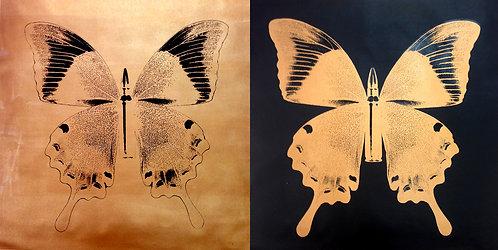 Golden Buttterflies