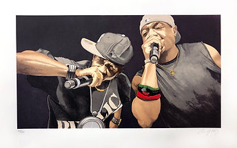 Chuck D and Flav