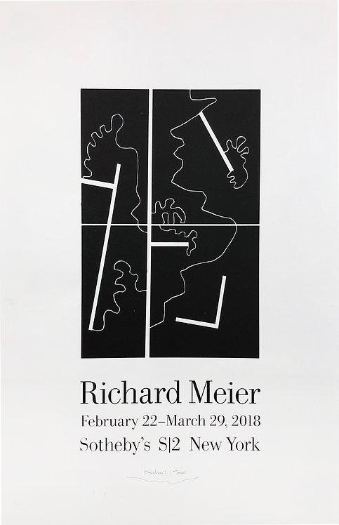 Richard Meier, Sotheby's Poster