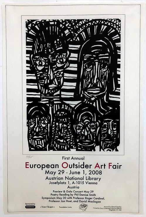 European Outsider Art Fair 2008 Poster