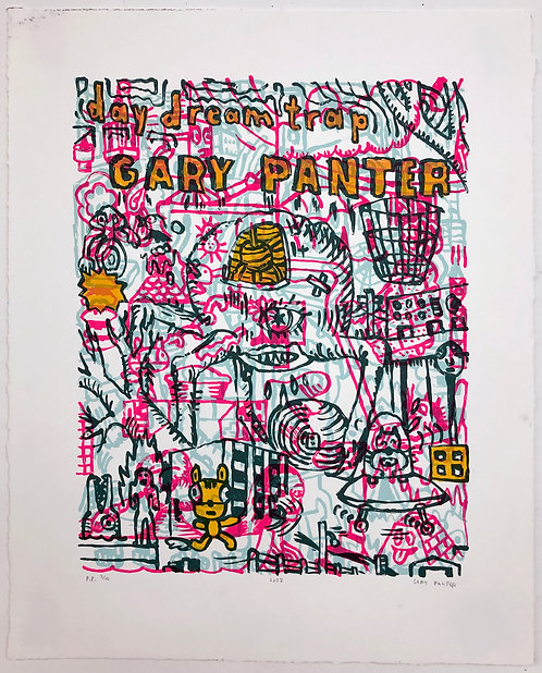 Gary Panter, Day Dreamtrap Poster