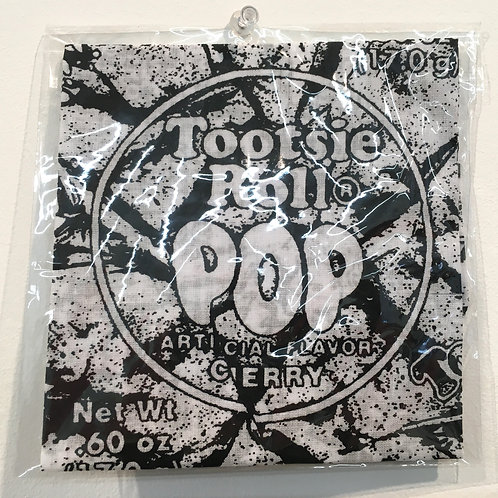 Tootsie Pop Cloth (Black)