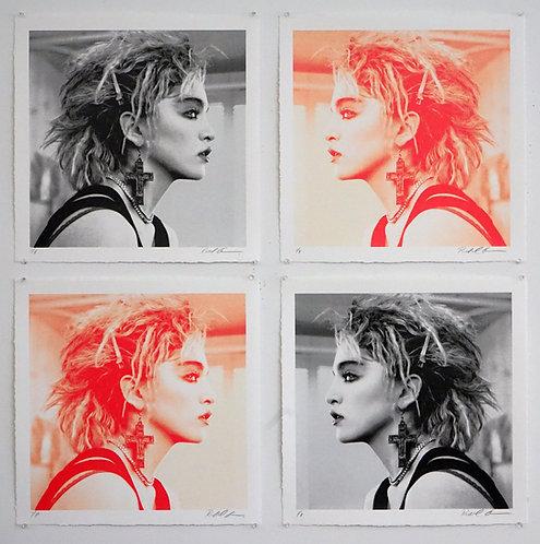 Madonna, NYC, 1983 (Set of 4 Prints)