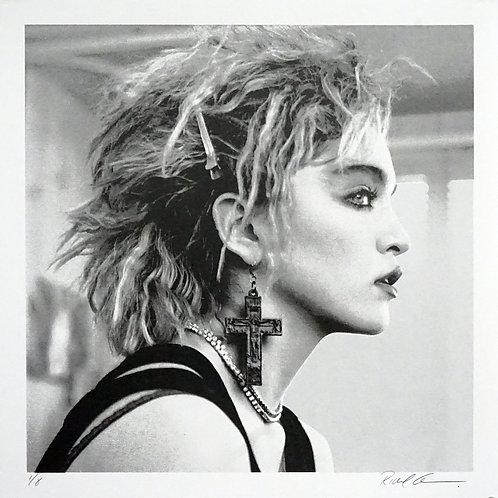 Madonna, NYC, 1983 (Grayscale) single print