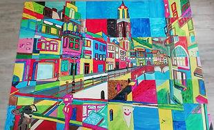 Puzzelschilderij Breda