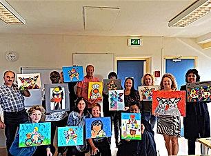 workshop dikke dames schilderen den haag