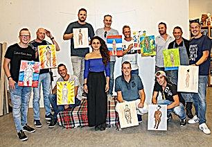 workshop naaktmodel schilderen breda