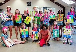 workshop naaktmodel schilderen nijmegen