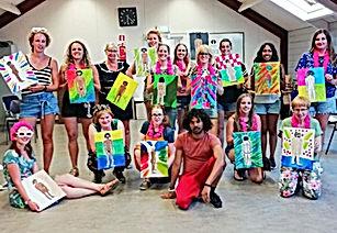 Workshop naaktmodel schilderen België