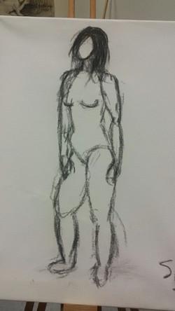 Workshops naaktmodel tekenen