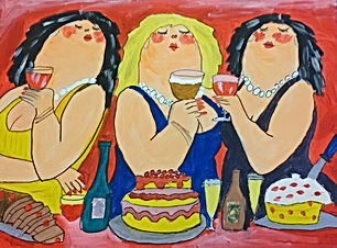 open workshop dikke dames schilderen eindhoven