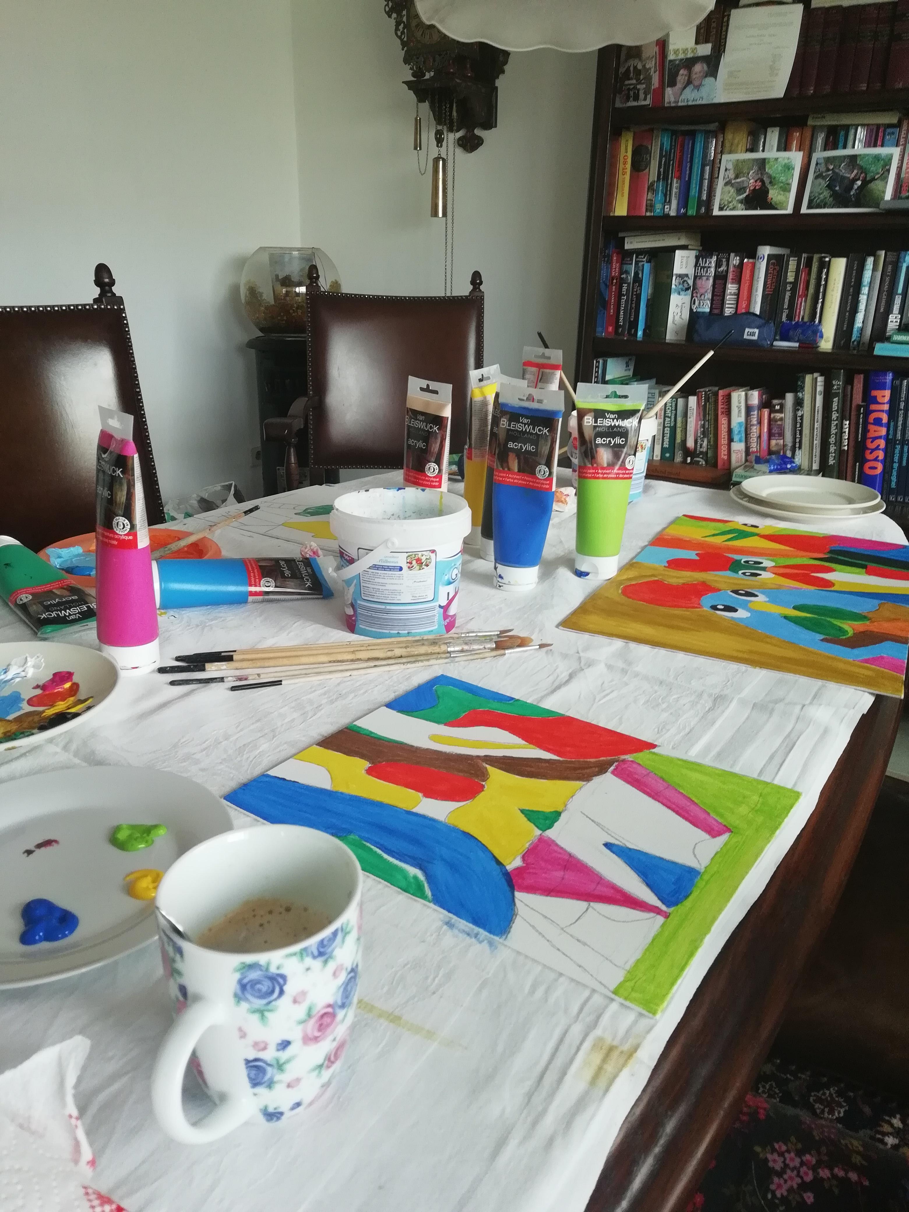 Workshop Puzzelschilderij