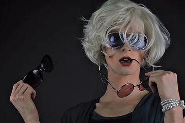 drag queen painting den bosch / Luna Degas Workshops