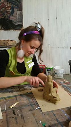 Workshops Naaktmodel Boetseren
