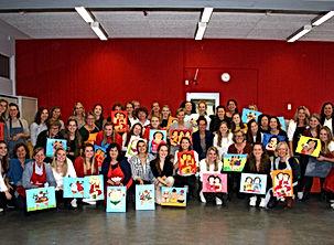 Dikke Dames schilderen België