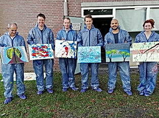 action painting maastricht